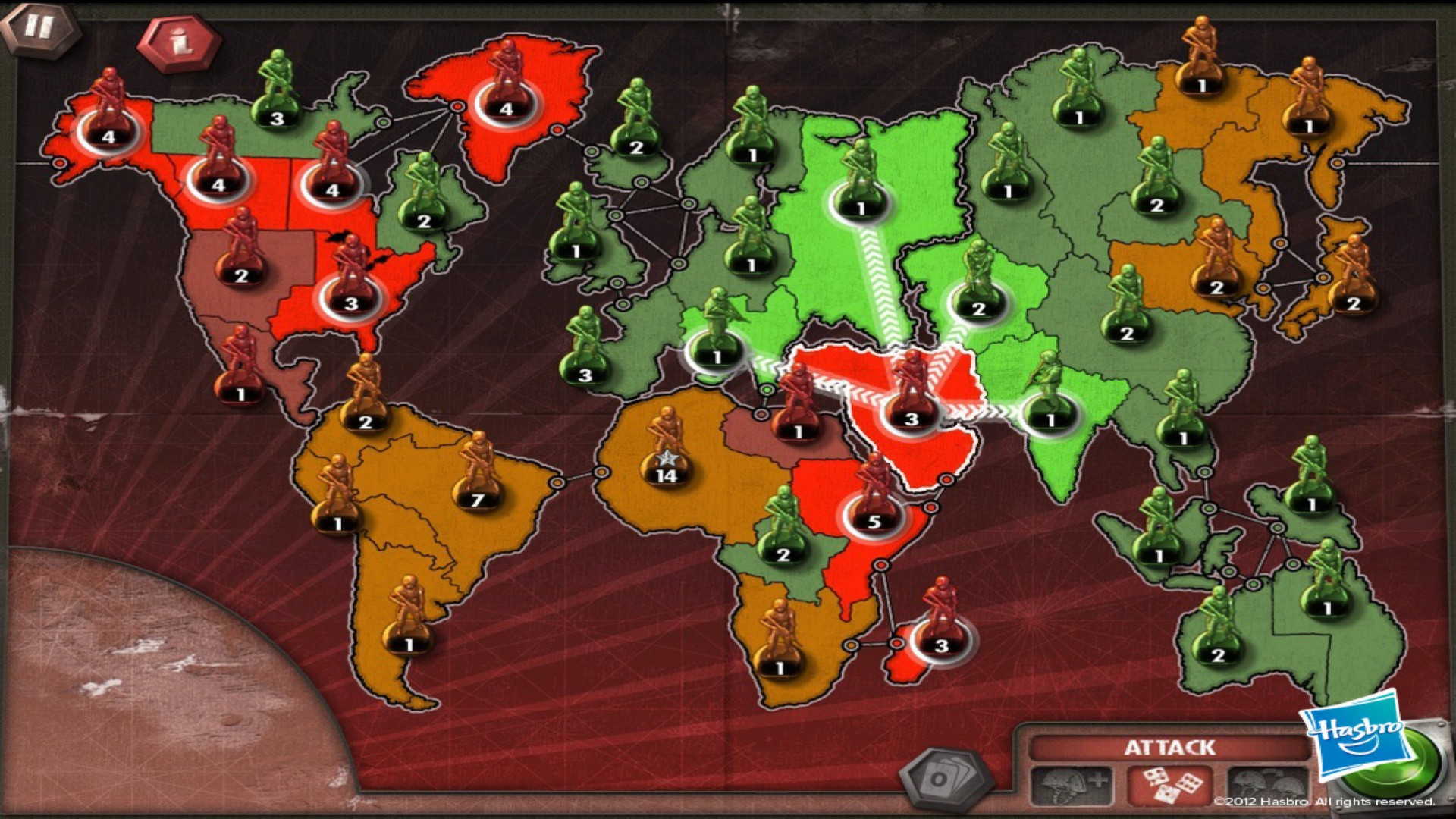 Risk Online | Play Risk Game Against Computer Unblocked