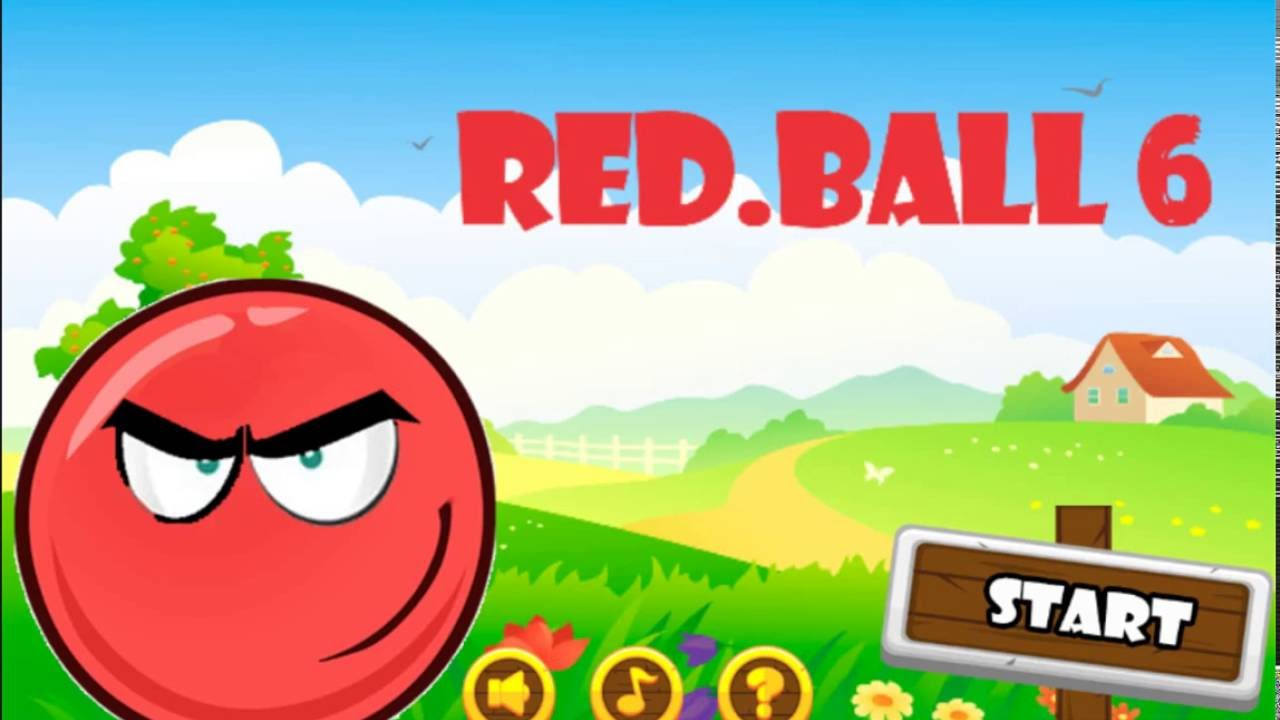 Red Ball 6 • Play Red Ball Games Unblocked Online Free