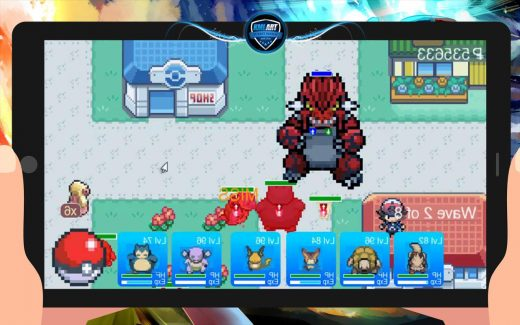 Play Pokemon Tower Defense Hacked Game Online