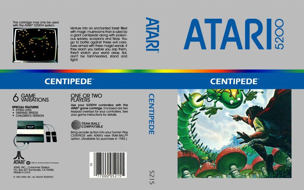 Centipede - Best Atari 5200 Games