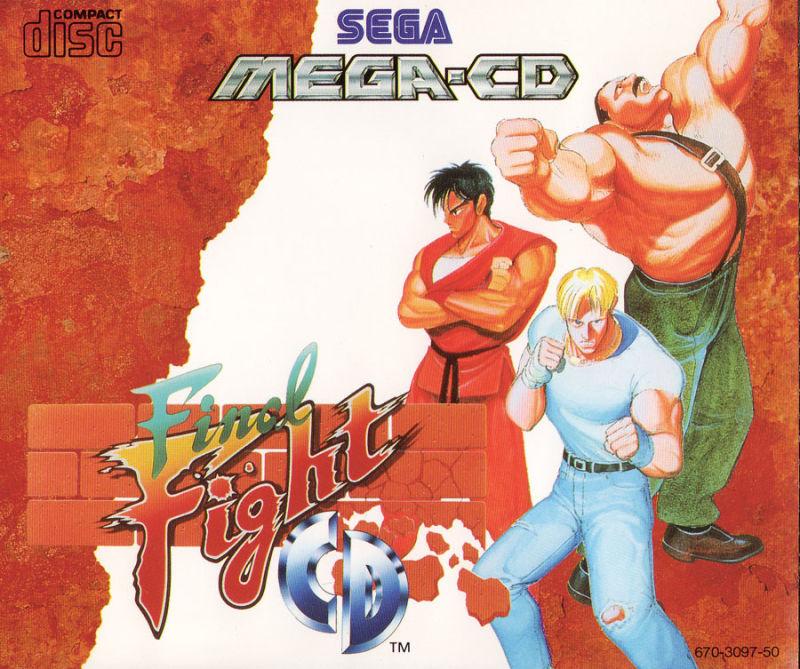 Final Fight CD (1989) - Best SEGA CD ROMs of All Time