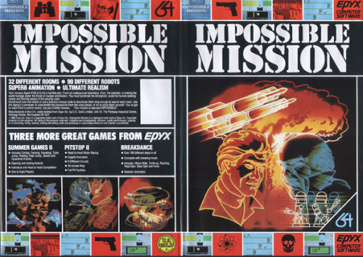 Impossible Mission - Best Commodore 64 Games that Became Bestsellers
