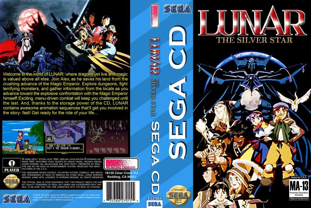 Lunar Eternal Blue - Best SEGA CD ROMs of All Time