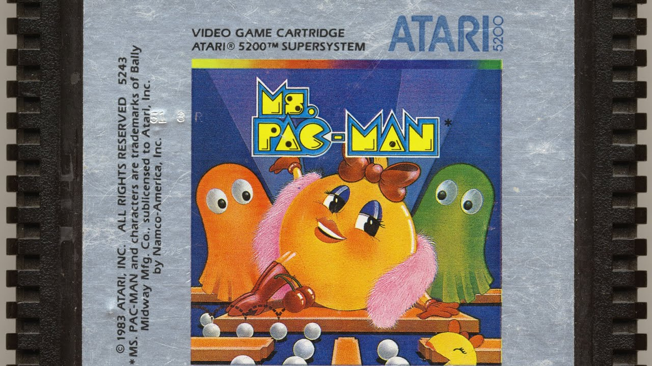 Ms. Pac-Man - Best Atari 5200 Games