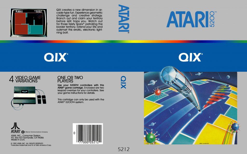 Qix - Best Atari 5200 Games