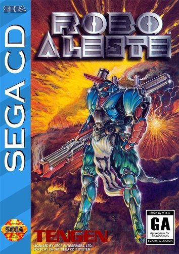Robo Aleste (1992) - Best SEGA CD ROMs of All Time