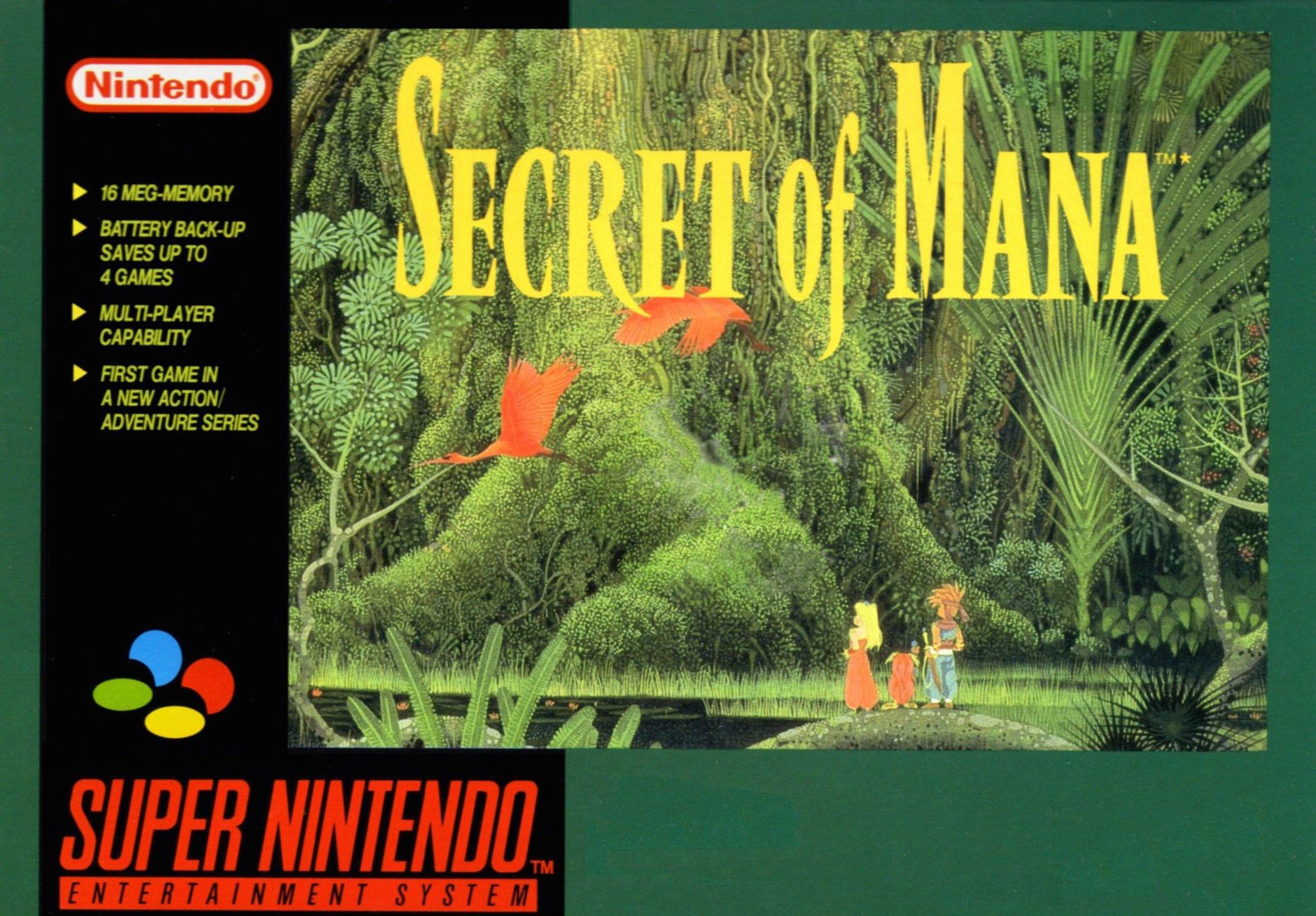 Secret of Mana - Best SNES RPGs