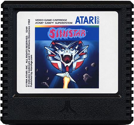 Sinistar - Best Atari 5200 Games