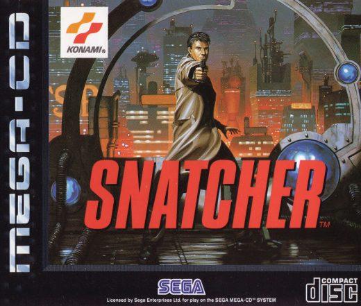 Snatcher - Best SEGA CD ROMs of All Time