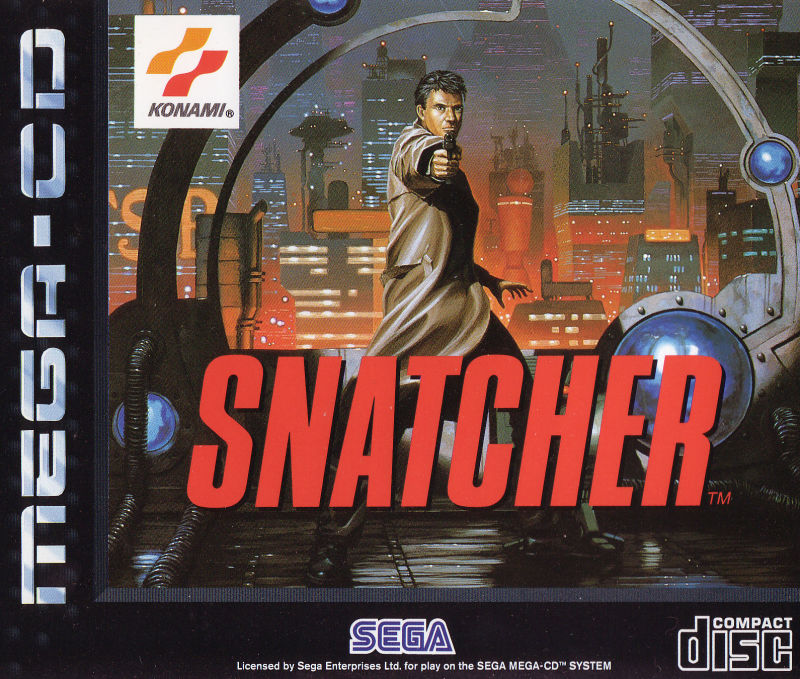 Snatcher - Best SEGA CD ROMs of All Time
