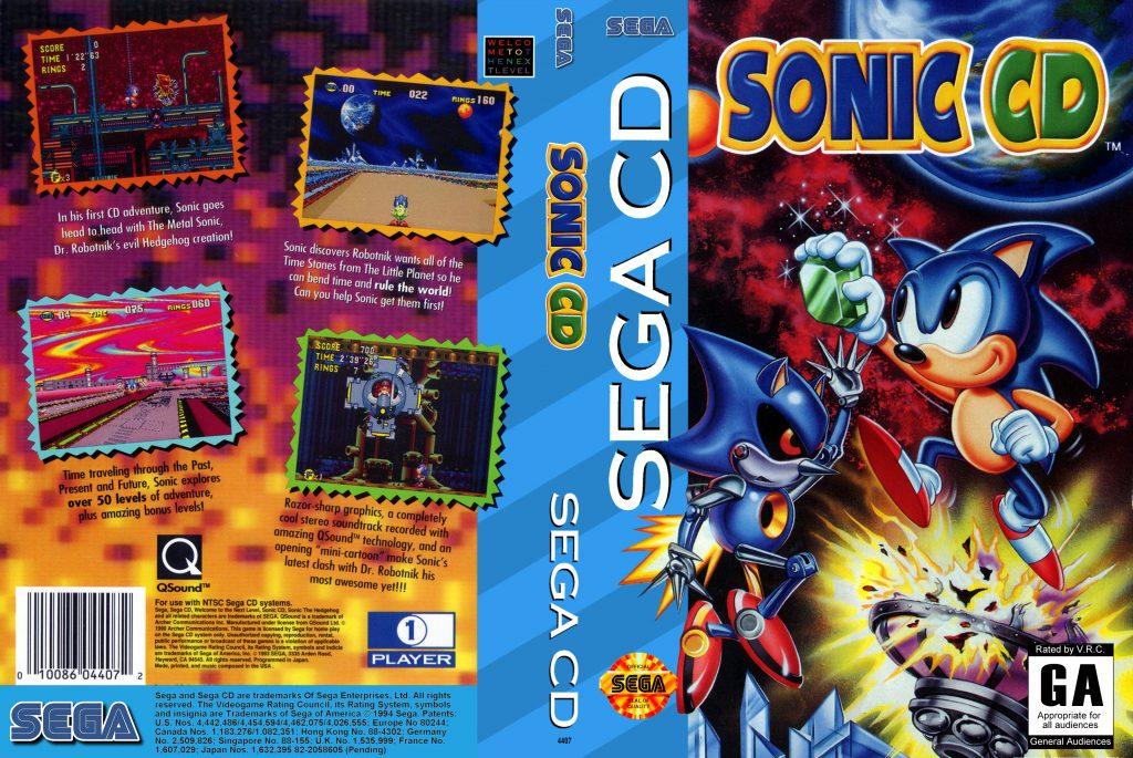 Sonic CD - Best SEGA CD ROMs of All Time