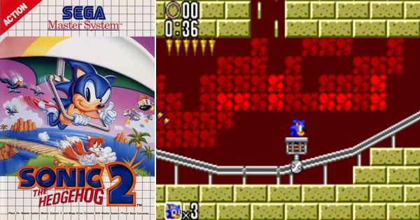 Sonic the Hedgehog 2 - Best SEGA Master System Games