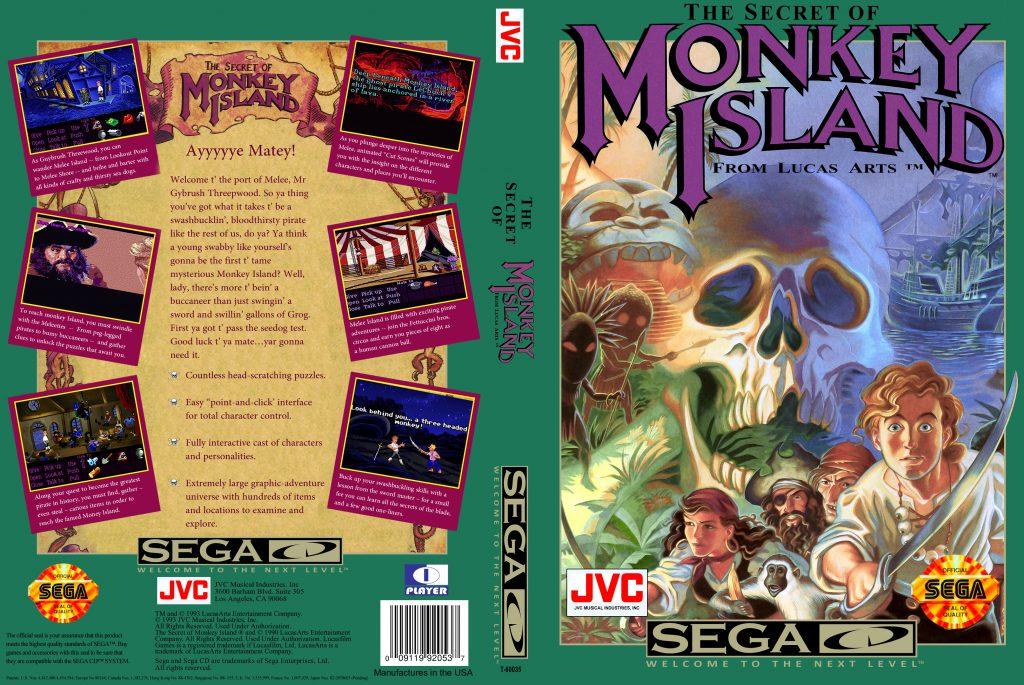 The Secret of Monkey Island - Best SEGA CD ROMs of All Time