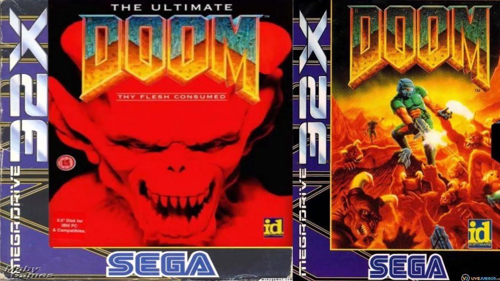 Doom 32x Game